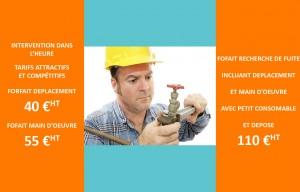 Dépannage d'urgence en plomberie pour vos réparations par notre plombier professionnel