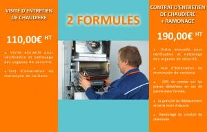 Contrat d'entretien de chaudière, système de chauffage, chauffe eau et canalisation et tuyauterie